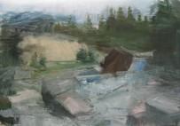 2007, oil in paper, 21 x 29.7 cm