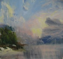 2007, oil on canvas, 40 x 43 cm